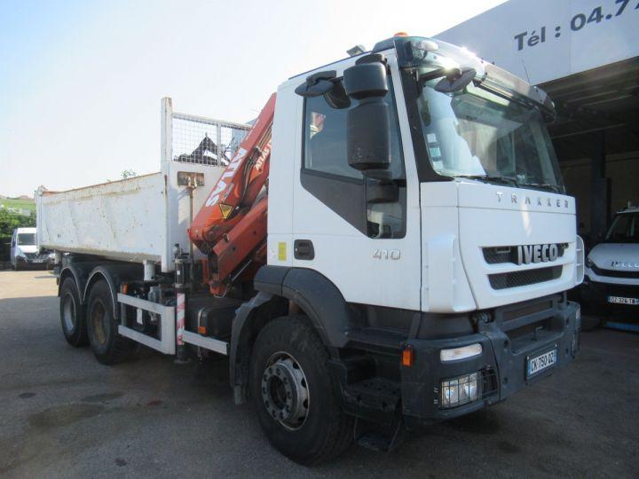Camion porteur Iveco EuroTrakker Bibenne / Tribenne 260t41  - 1
