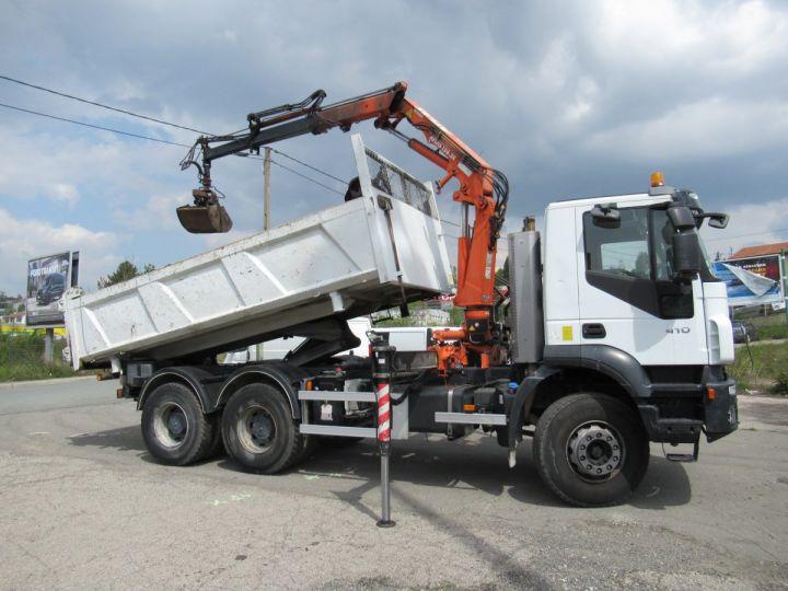 Camion porteur Iveco EuroTrakker Bibenne / Tribenne 260t41  - 13