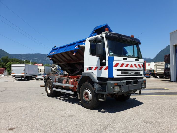 Camion porteur Iveco EuroTrakker Bibenne / Tribenne Cursor 310  - 2
