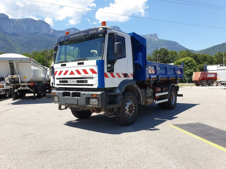 Camion porteur Iveco EuroTrakker Bibenne / Tribenne Cursor 310  - 4