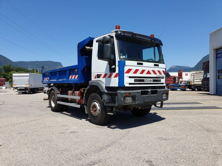 Camion porteur Iveco EuroTrakker Bibenne / Tribenne Cursor 310  - 5