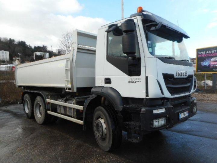 Camion porteur Iveco Trakker Bibenne / Tribenne AD260T36  Occasion - 1