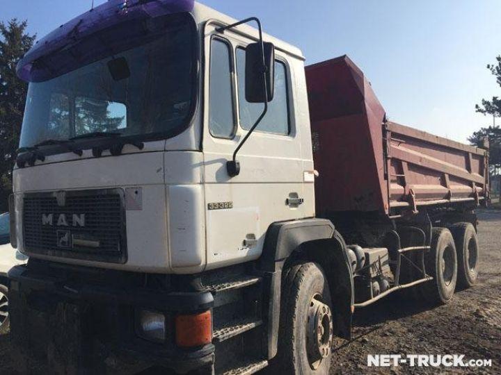 Camion porteur Man F2000 Bibenne / Tribenne  - 2