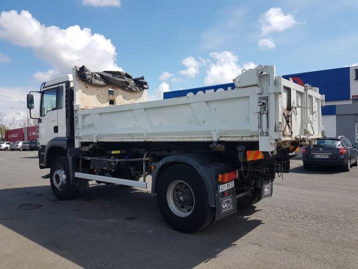 Camion porteur Man FE Bibenne / Tribenne 310 A BLANC Occasion - 8