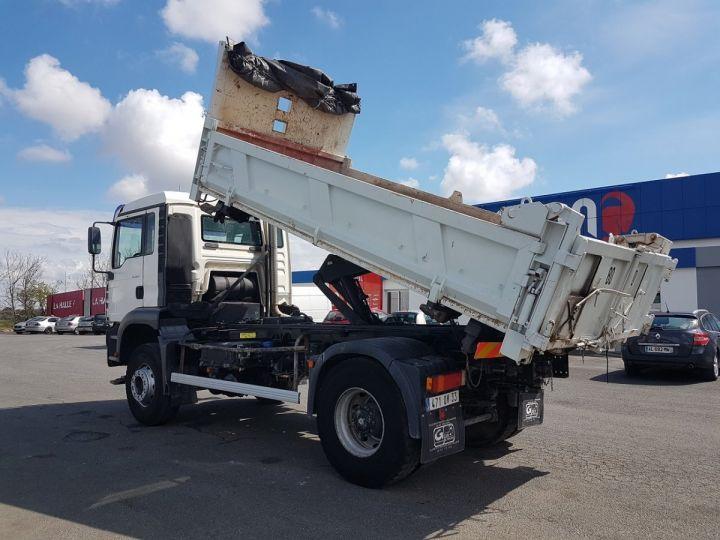 Camion porteur Man FE Bibenne / Tribenne 310 A BLANC Occasion - 9