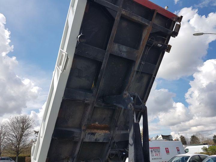 Camion porteur Man FE Bibenne / Tribenne 310 A BLANC Occasion - 13