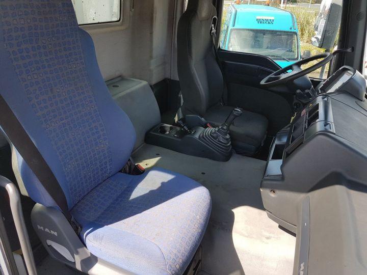 Camion porteur Man FE Bibenne / Tribenne 310 A BLANC Occasion - 20