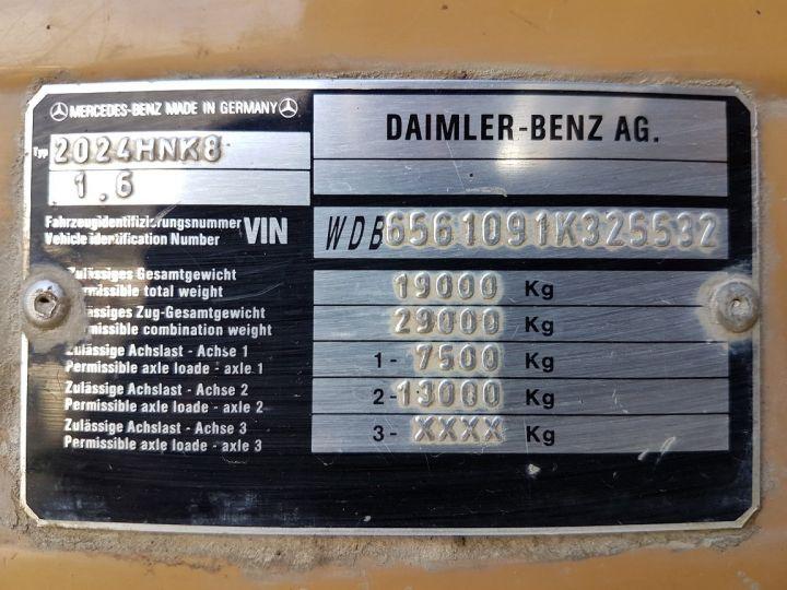 Camion porteur Mercedes 2024 Bibenne / Tribenne HNK MARRON Occasion - 21