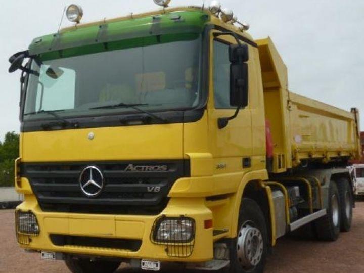 Camion porteur Mercedes Actros Bibenne / Tribenne  - 1