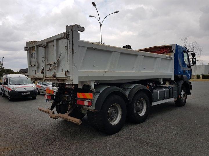 Camion porteur Renault Kerax Bibenne / Tribenne 430dxi.26 6x4 BLEU BLANC - 2