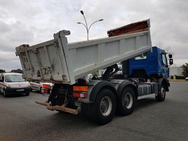 Camion porteur Renault Kerax Bibenne / Tribenne 430dxi.26 6x4 BLEU BLANC - 3
