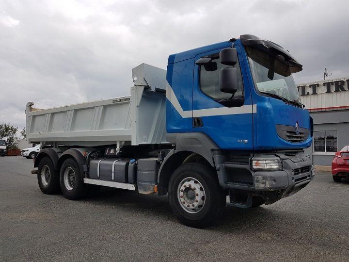 Camion porteur Renault Kerax Bibenne / Tribenne 430dxi.26 6x4 BLEU BLANC - 5