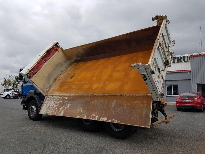 Camion porteur Renault Kerax Bibenne / Tribenne 430dxi.26 6x4 BLEU BLANC - 8