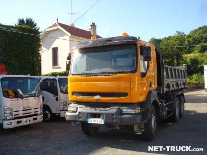 Camion porteur Renault Kerax Bibenne / Tribenne  - 1