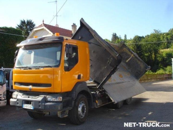 Camion porteur Renault Kerax Bibenne / Tribenne  - 2