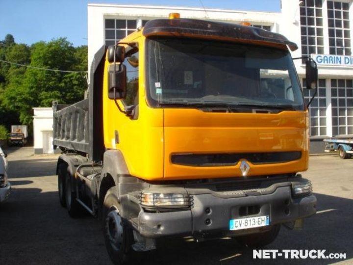 Camion porteur Renault Kerax Bibenne / Tribenne  - 3