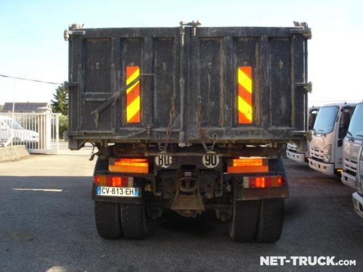 Camion porteur Renault Kerax Bibenne / Tribenne  - 4