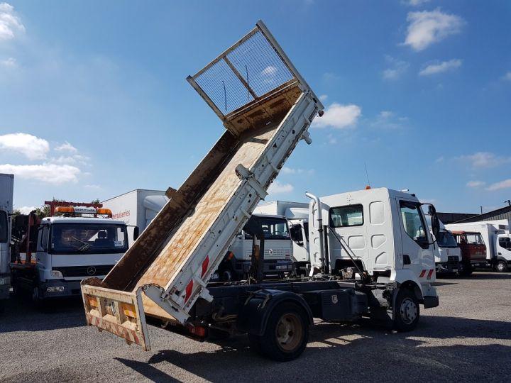 Camion porteur Renault Midlum Bibenne / Tribenne 180dci.08 BLANC - 3