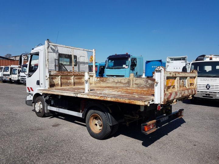 Camion porteur Renault Midlum Bibenne / Tribenne 180dci.08 BLANC - 7