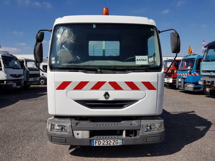 Camion porteur Renault Midlum Bibenne / Tribenne 180dci.08 BLANC - 8
