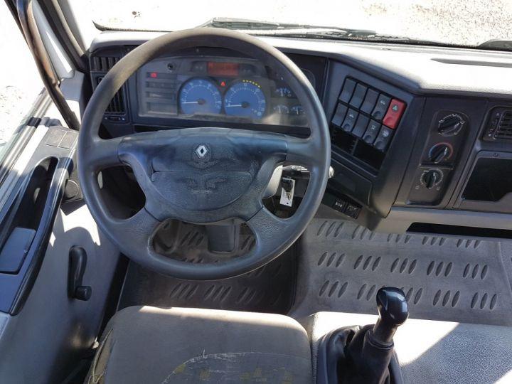Camion porteur Renault Midlum Bibenne / Tribenne 180dci.08 BLANC - 20