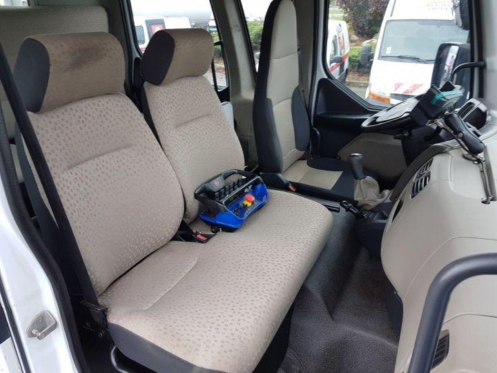 Camion porteur Renault Midlum Bibenne / Tribenne 220dxi.12 DOUBLE CABINE BLANC Occasion - 13