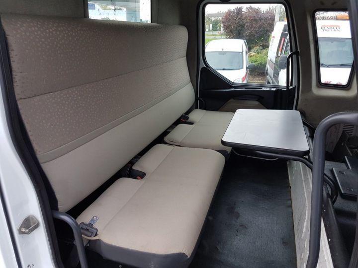 Camion porteur Renault Midlum Bibenne / Tribenne 220dxi.12 DOUBLE CABINE BLANC Occasion - 14