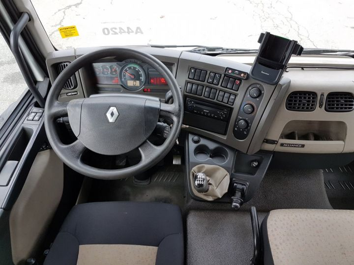 Camion porteur Renault Midlum Bibenne / Tribenne 220dxi.12 DOUBLE CABINE BLANC Occasion - 15