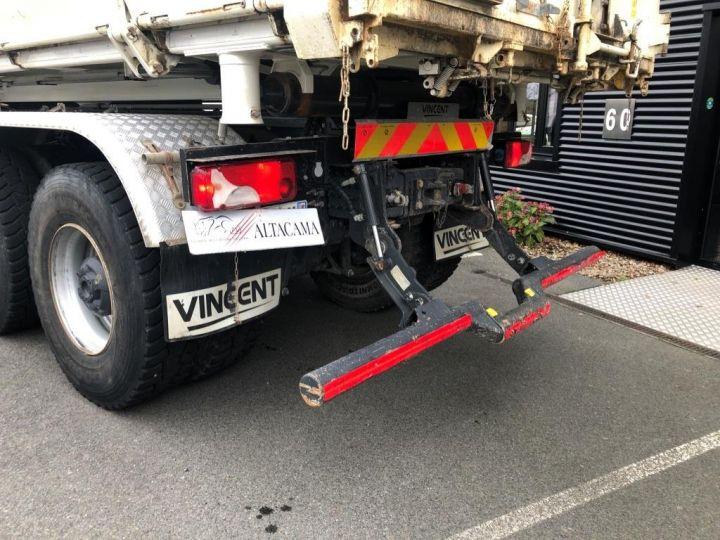 Camion porteur Scania Bibenne / Tribenne 410 8X4 BI BENNE BLANC - 9