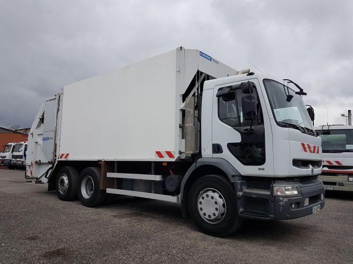 Camion porteur Renault Premium B.O.M 300.26 6x2 BOM euro 2 - BV MANUELLE BLANC - 5