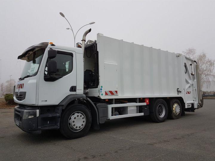 Camion porteur Renault Premium B.O.M 310dxi.26 6x2/4 BOM BLANC Occasion - 1