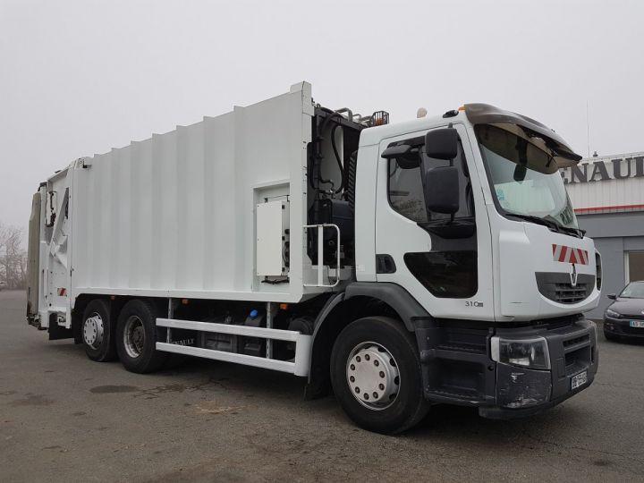 Camion porteur Renault Premium B.O.M 310dxi.26 6x2/4 BOM BLANC Occasion - 3