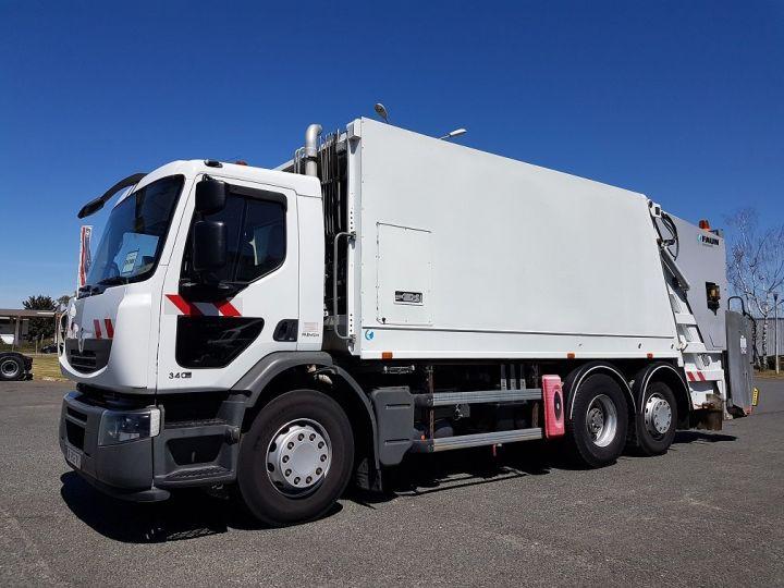 Camion porteur Renault Premium B.O.M 340dxi.26 6x2/4 BOM BLANC Occasion - 1
