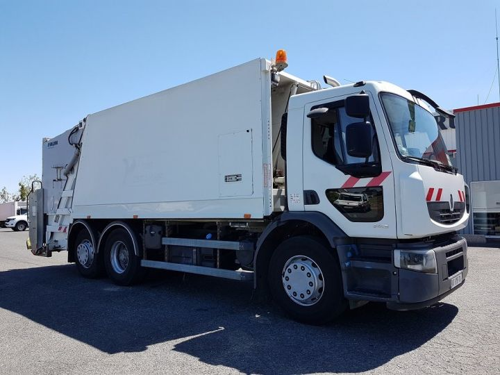 Camion porteur Renault Premium B.O.M 340dxi.26 6x2/4 BOM BLANC Occasion - 4
