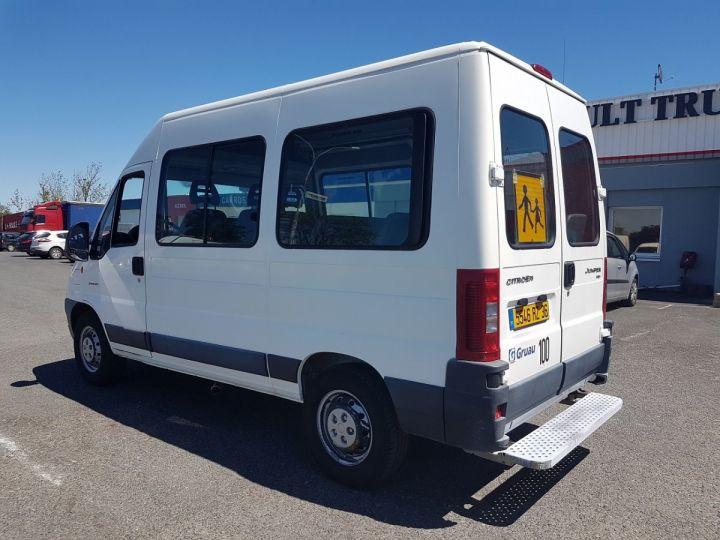 Camion porteur Bus et Cars JUMPER 35MH 2.2 HDI 100 - 23 PLACES ENFANTS BLANC Occasion - 4