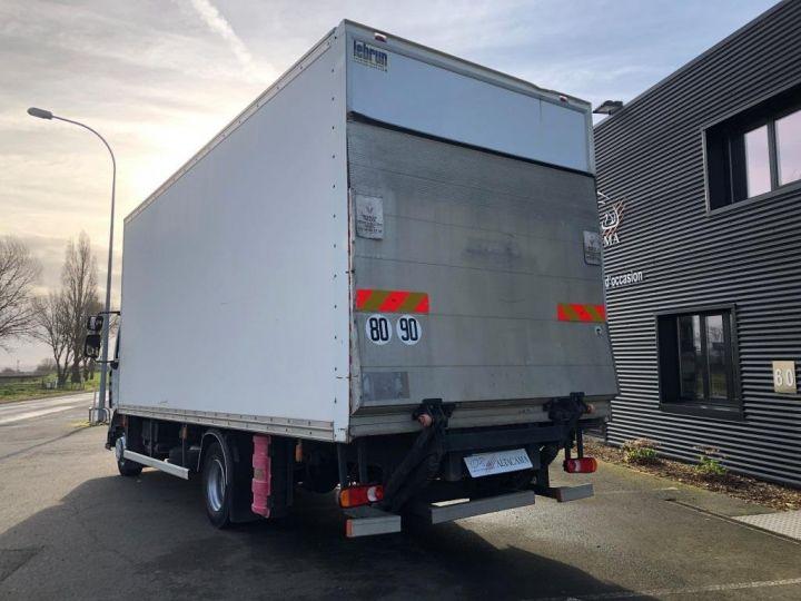 Camion porteur Renault Midlum Caisse fourgon + Hayon élévateur BLANC - 3