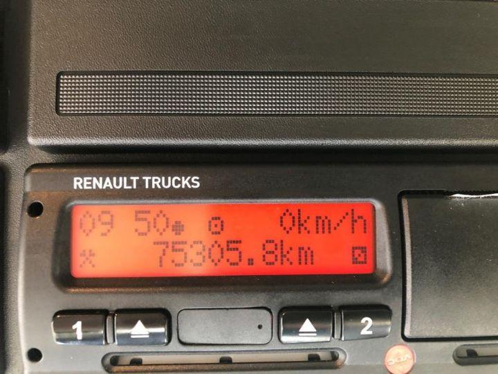 Camion porteur Renault Midlum Caisse fourgon + Hayon élévateur BLANC - 14