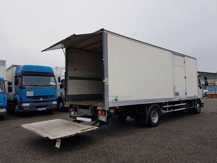 Camion porteur Renault Midlum Caisse fourgon + Hayon élévateur 180dci.13 euro 3 BLANC - 3