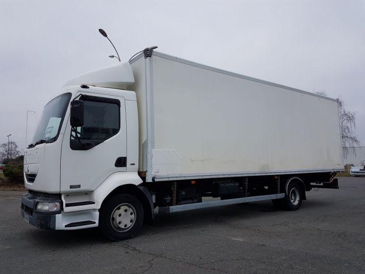 Camion porteur Renault Midlum Caisse fourgon + Hayon élévateur 220dci.12 EXPRESS PRO BLANC - 1
