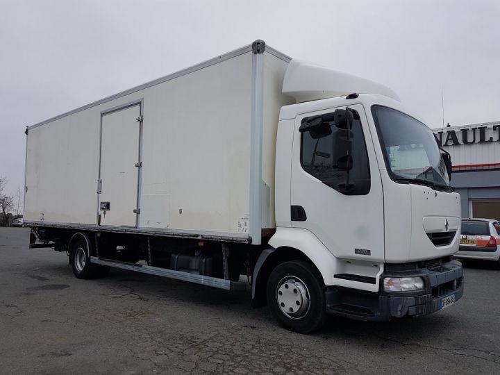 Camion porteur Renault Midlum Caisse fourgon + Hayon élévateur 220dci.12 EXPRESS PRO BLANC - 4