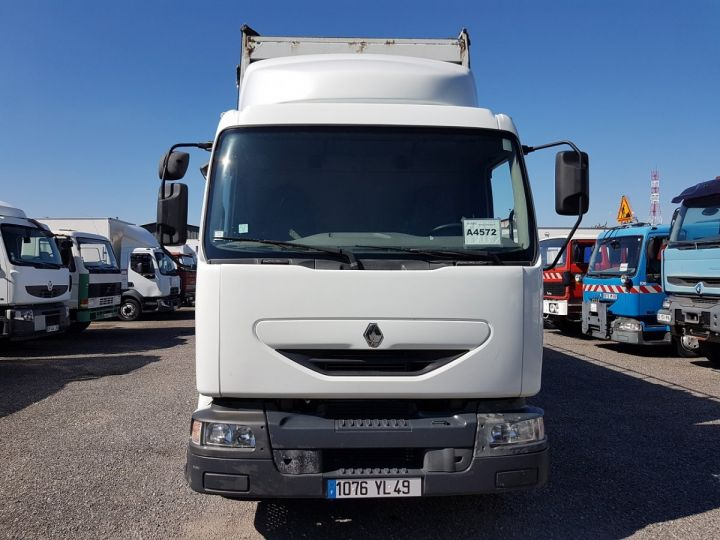 Camion porteur Renault Midlum Caisse fourgon + Hayon élévateur 220dci.13 - Fourgon VITRIER BLANC - 11