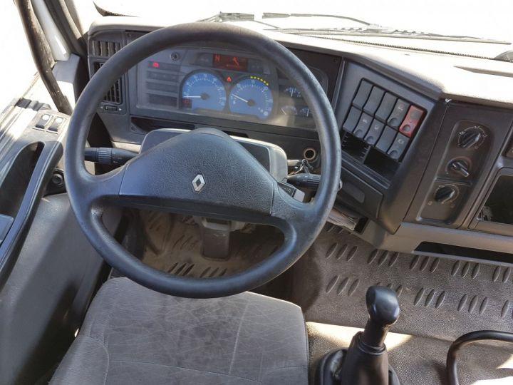Camion porteur Renault Midlum Caisse fourgon + Hayon élévateur 220dci.13 - Fourgon VITRIER BLANC - 16