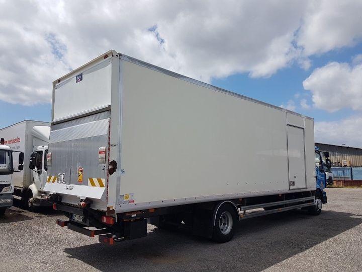 Camion porteur Renault Midlum Caisse fourgon + Hayon élévateur 270dxi.14 Fourgon 8m50 BLANC - BLEU - 2