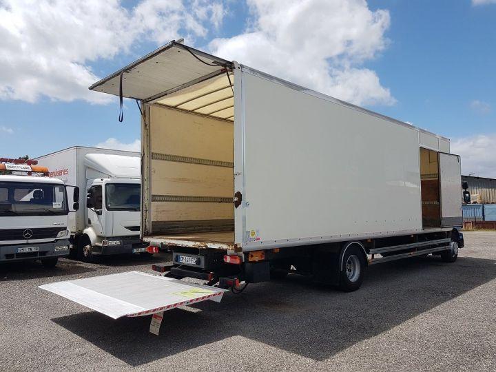 Camion porteur Renault Midlum Caisse fourgon + Hayon élévateur 270dxi.14 Fourgon 8m50 BLANC - BLEU - 3