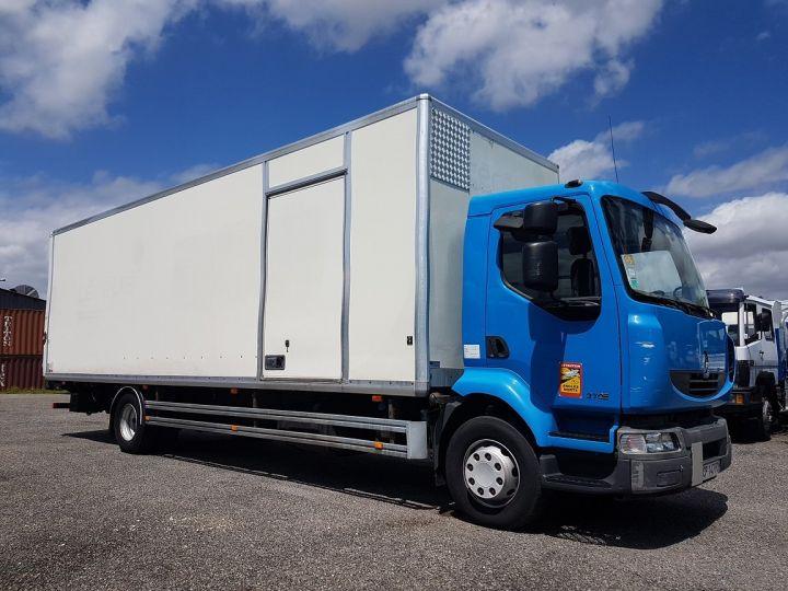 Camion porteur Renault Midlum Caisse fourgon + Hayon élévateur 270dxi.14 Fourgon 8m50 BLANC - BLEU - 4