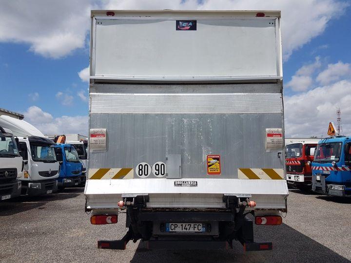 Camion porteur Renault Midlum Caisse fourgon + Hayon élévateur 270dxi.14 Fourgon 8m50 BLANC - BLEU - 6
