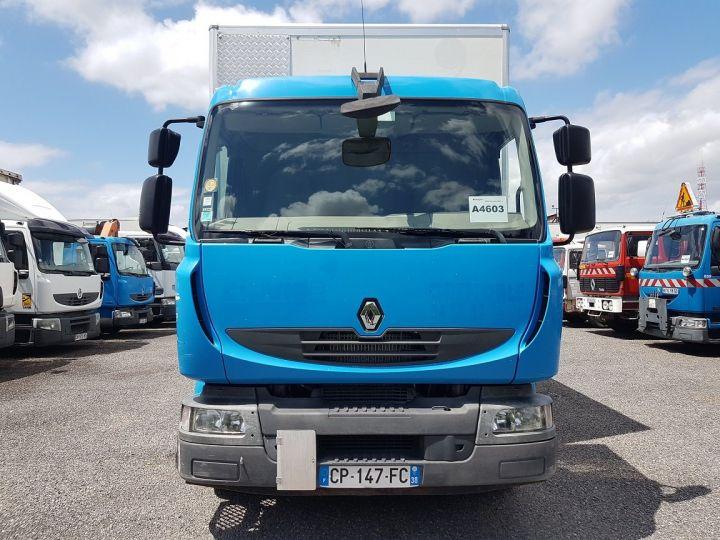 Camion porteur Renault Midlum Caisse fourgon + Hayon élévateur 270dxi.14 Fourgon 8m50 BLANC - BLEU - 11