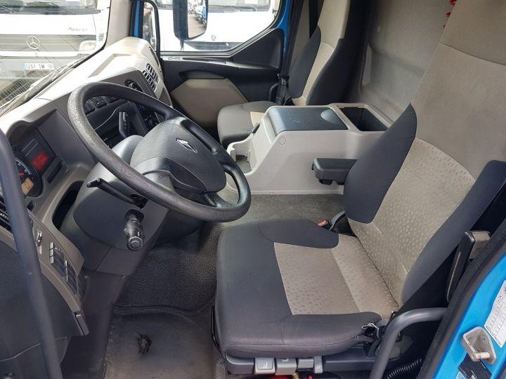 Camion porteur Renault Midlum Caisse fourgon + Hayon élévateur 270dxi.14 Fourgon 8m50 BLANC - BLEU - 19