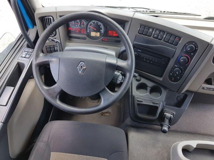 Camion porteur Renault Midlum Caisse fourgon + Hayon élévateur 270dxi.14 Fourgon 8m50 BLANC - BLEU - 21