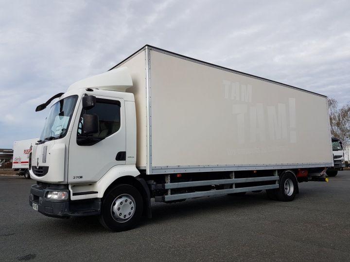 Camion porteur Renault Midlum Caisse fourgon + Hayon élévateur 270dxi.16 ALLIANCE BLANC Occasion - 1